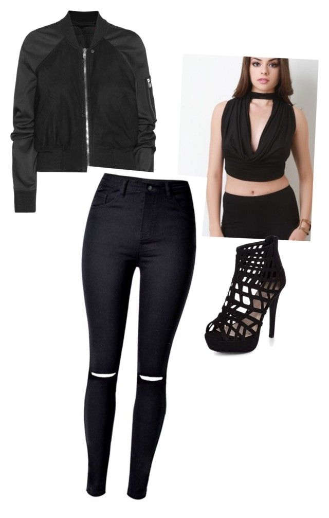 """""""Get the look.  mymothermydaughter4you.com"""" by mymy4you on Polyvore featuring Rick Owens and WithChic"""