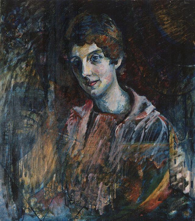 Vassily Kandinskij.Ritratto di Nina Kandinsky( 1917)