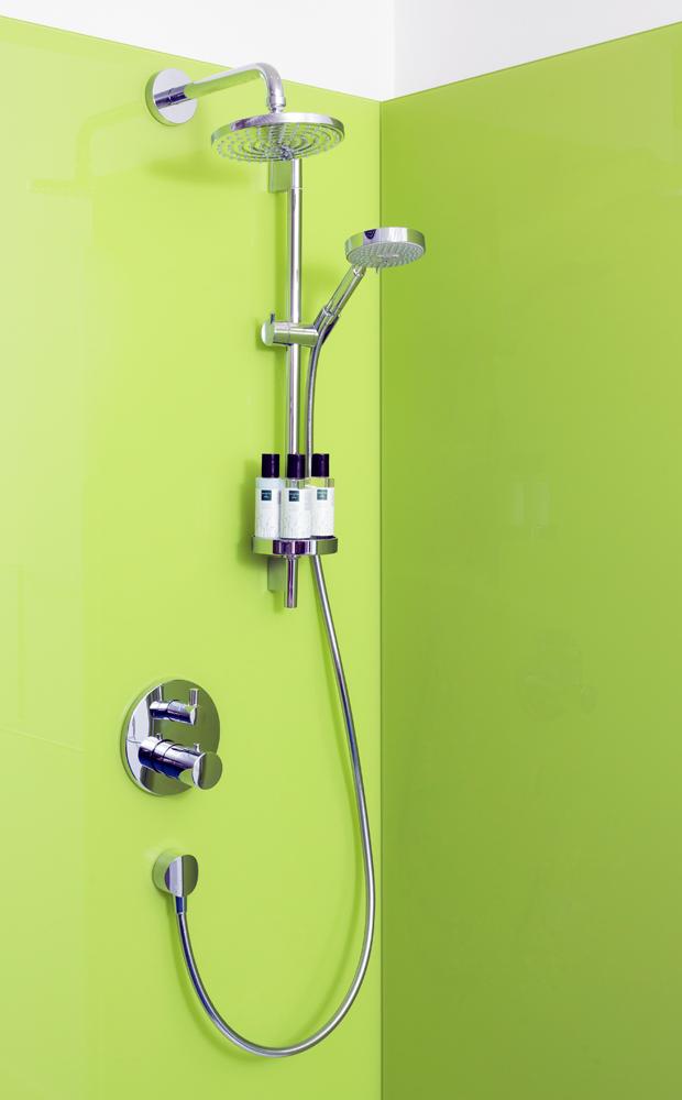 Bathroom Glass Splashbacks Coloured Shower Walls