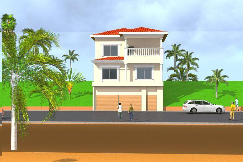 Projet de construction du0027une Maison du0027habitation a Libreville au