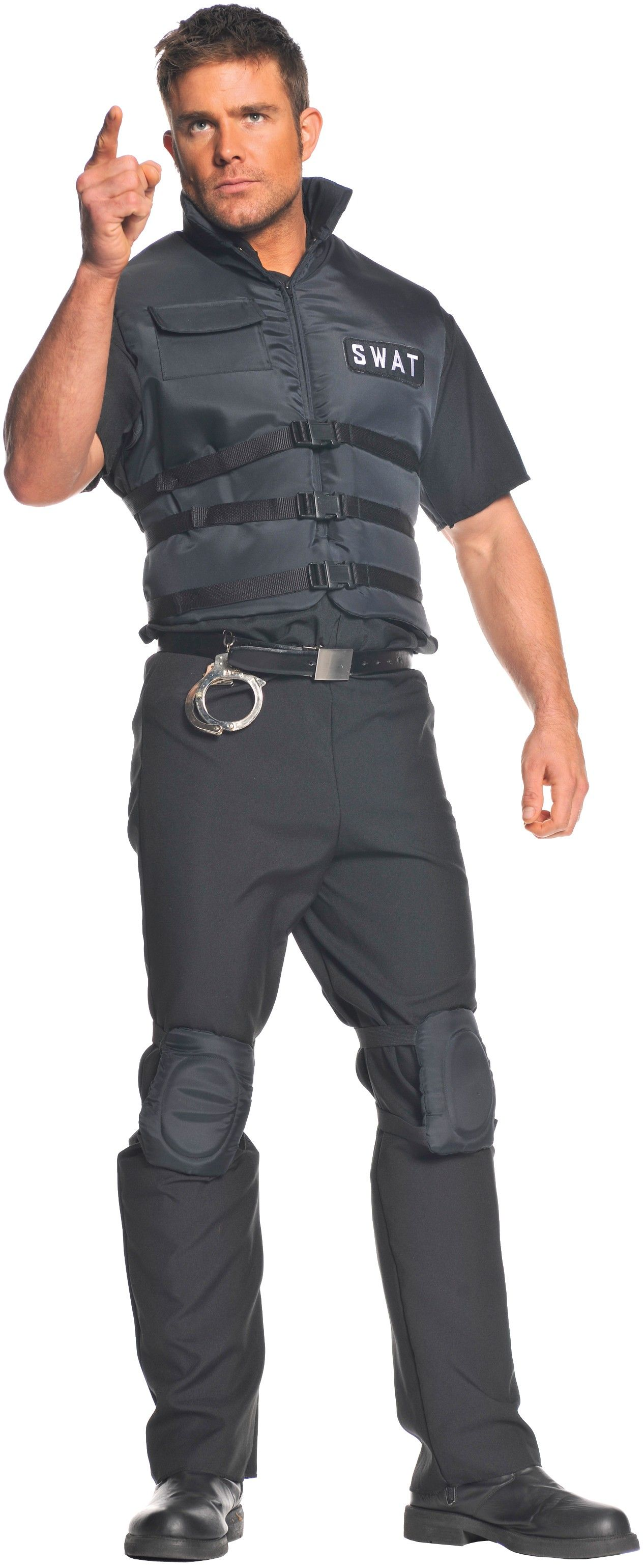 swat adult costume standard - Swat Costumes For Halloween