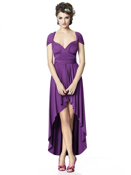 Twist/Wrap wear it different ways bridesmaid dress