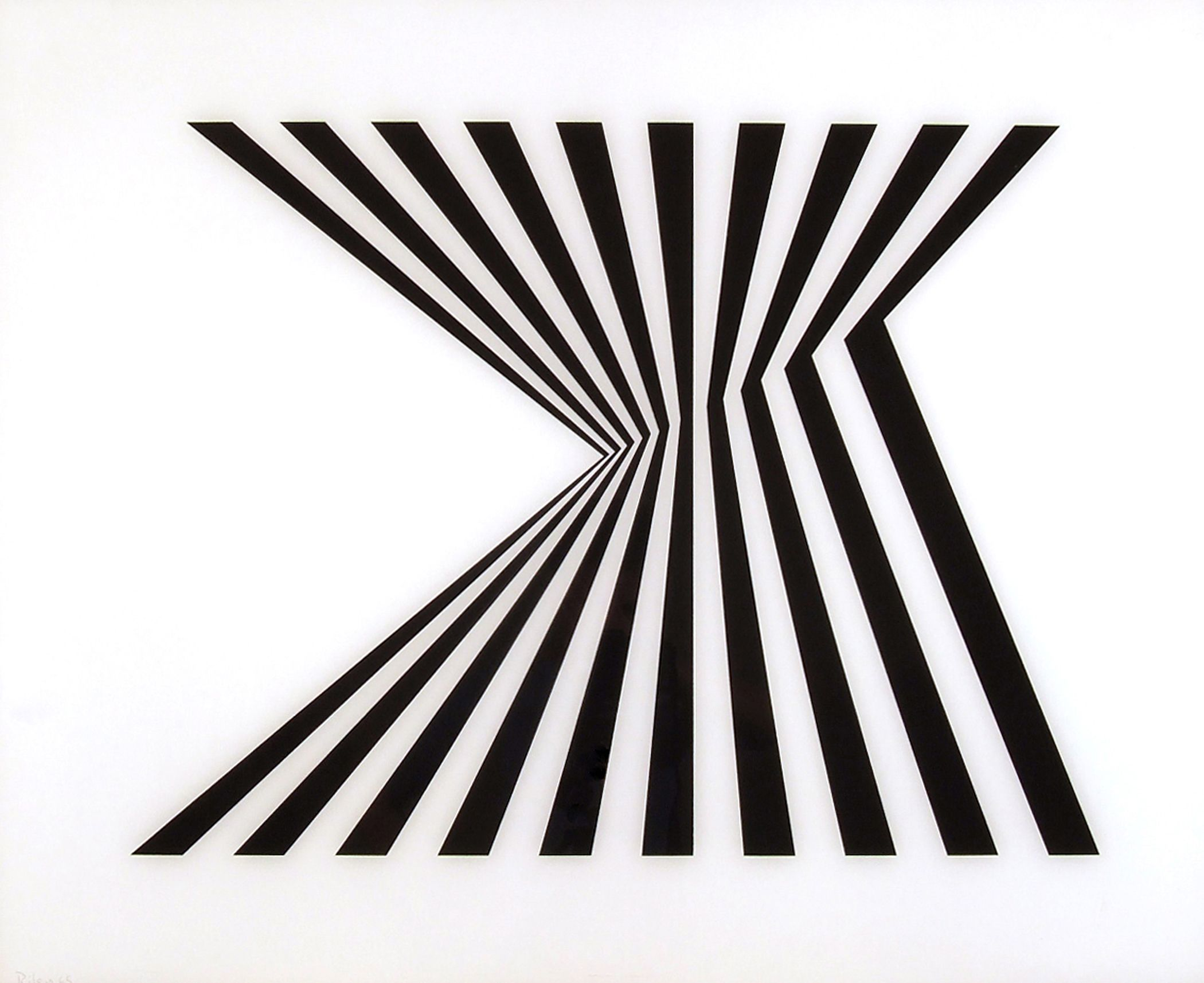 "Bridget Riley — ""The Striped Paintings"" — Berlin, Germany #stripes #art"