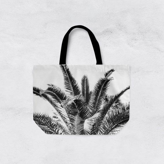 Colored Palm Trees Weekender Bag