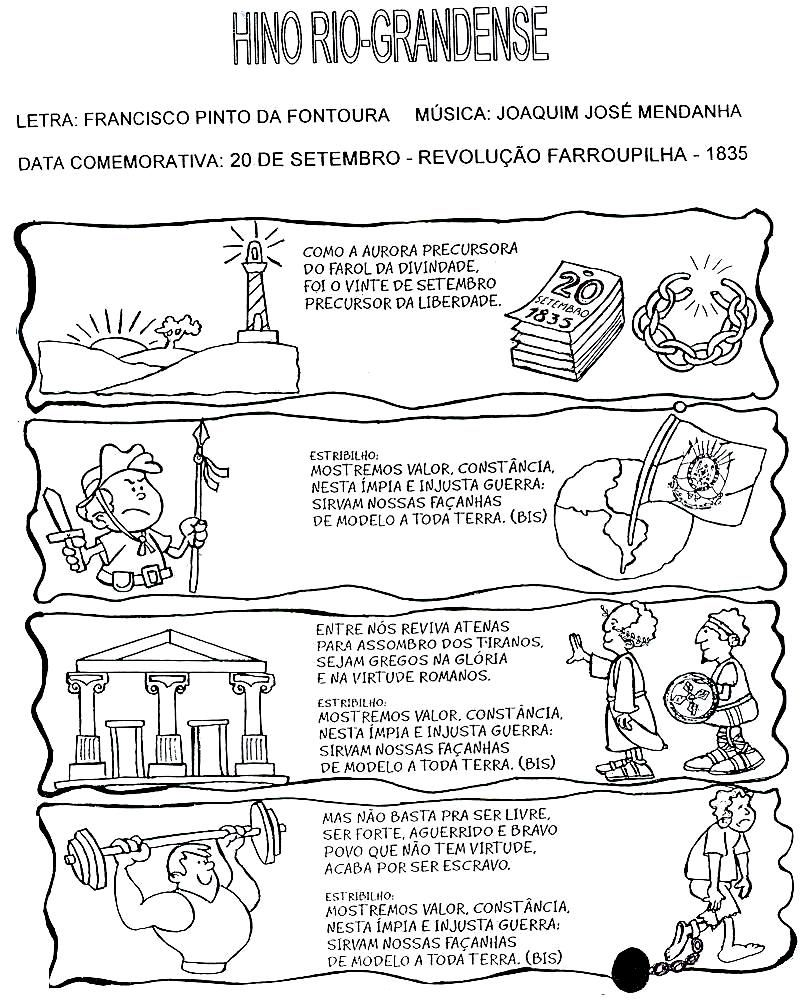 Cultura Gaucha E Semana Farroupilha Com Imagens Atividades