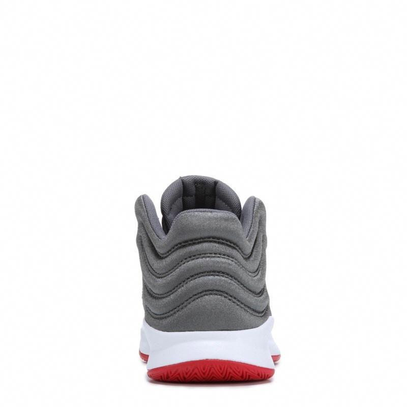 7bb7bcb796052 Adidas Kids' Pro Spark Wide Basketball Shoe Pre/Grade School Shoes (Grey/Red)  #adidasbasketballshoes