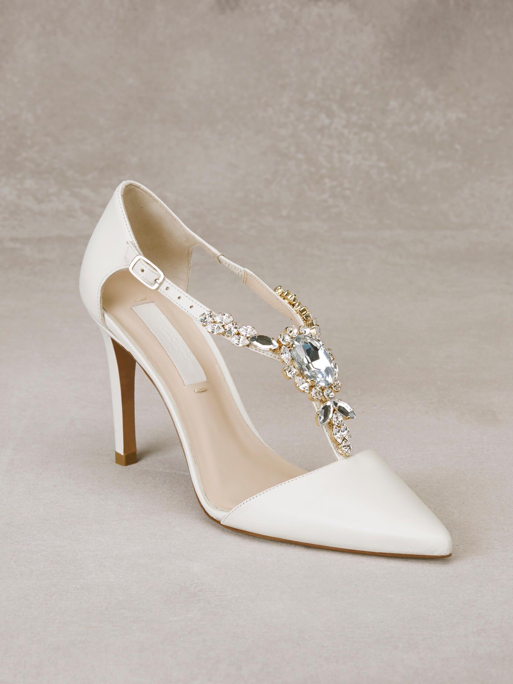 cb6214b57d9 Zapato de Pronovias (ALDA), categoría novia | Zapatos, Sandalias y ...
