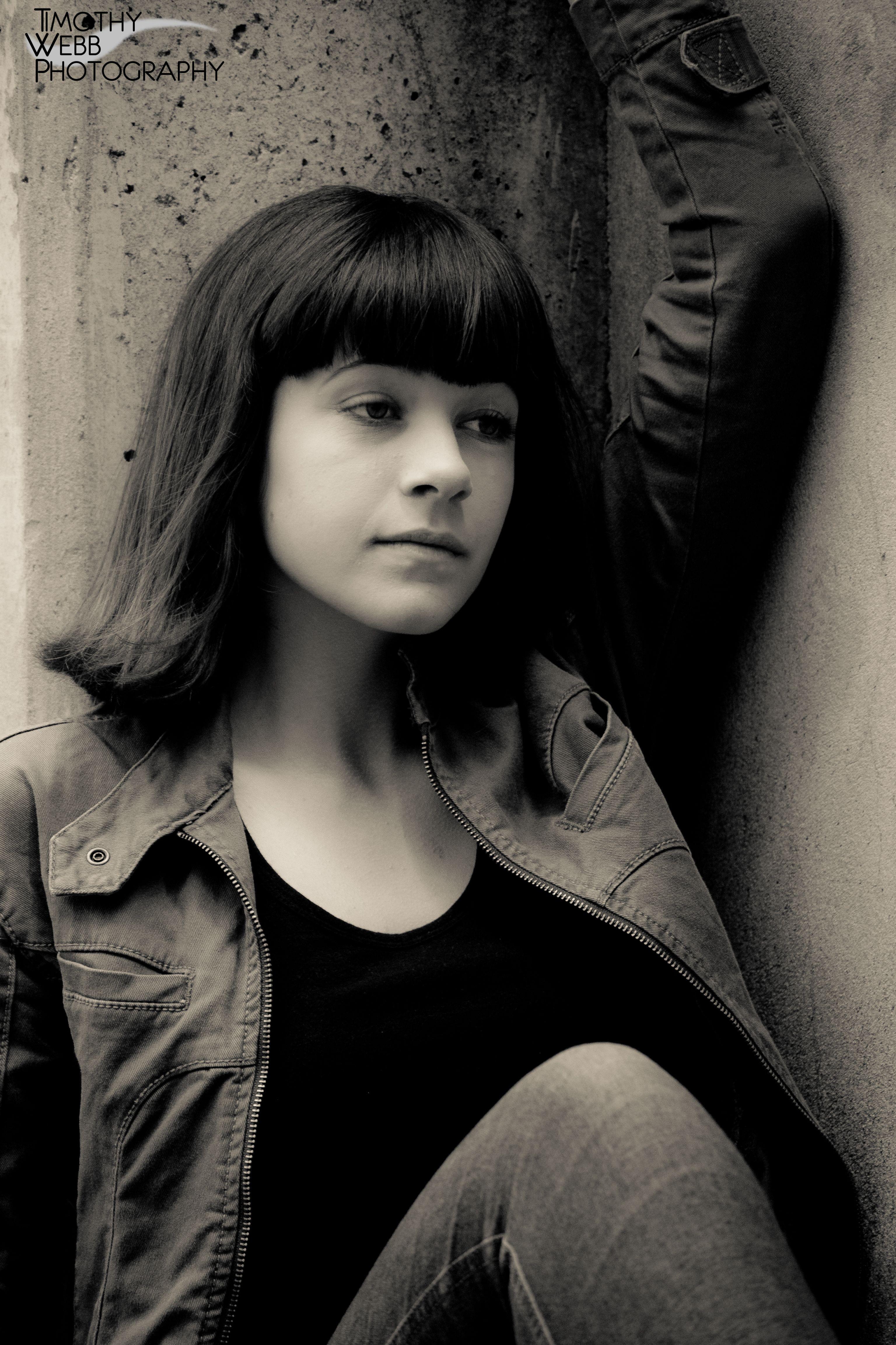 Sabina  #jacket #jeans #brunette #timothywebbphotography