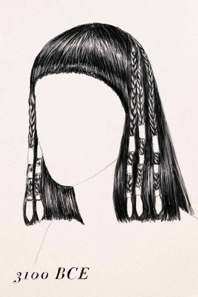 Hair Braids Beauty The History Of Hair Braiding Hair Braid Like An Ancient Egyptian From 3100 Egyptian Hairstyles Egyptian Makeup Braids With Beads