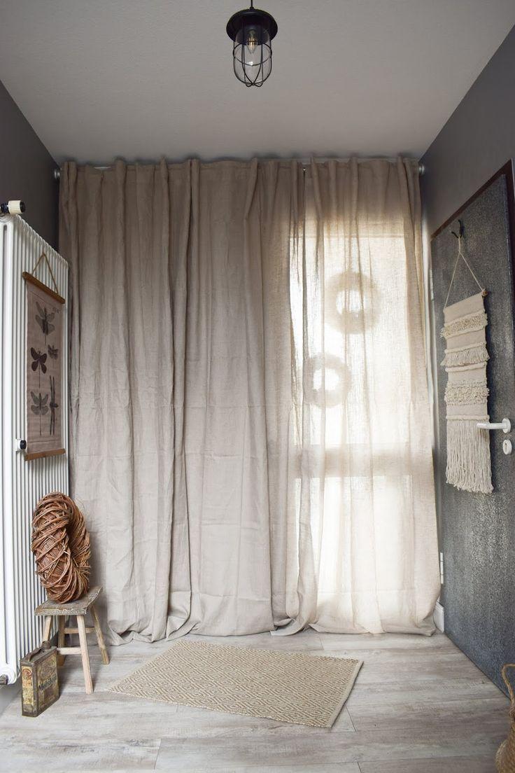 Garderobe Ideen Fur Flur Einrichtung Dekoidee Vorhang Hausture