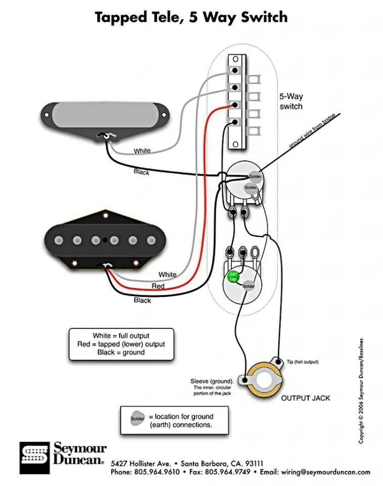 5 way tele wiring. | guitar wiring & mods... | electric guitar lessons, guitar pickups ... hhs wiring 5 way switch ssh wiring 5 way #4