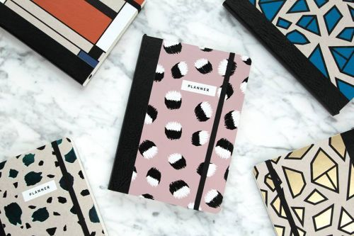 Planner Paper Love Eco / wrzosowy / Magdalena Tekieli Design