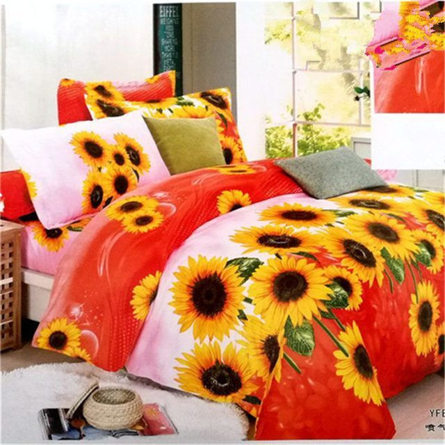 23 Best Sunflower Bedroom Ideas - decorisme #sunflowerbedroomideas