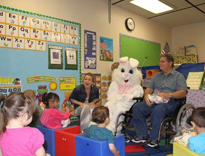 Cal-Diego Chapter Visits Special Needs Children During Paralyzed Veterans of America Awareness Month