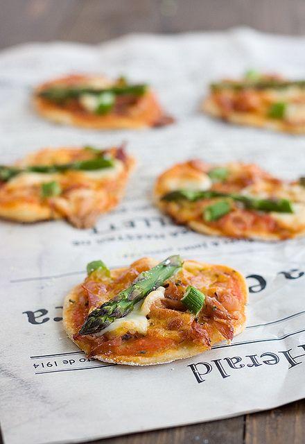 Receta De Mini Pizzas De Trigueros Pizza Casera Recetas