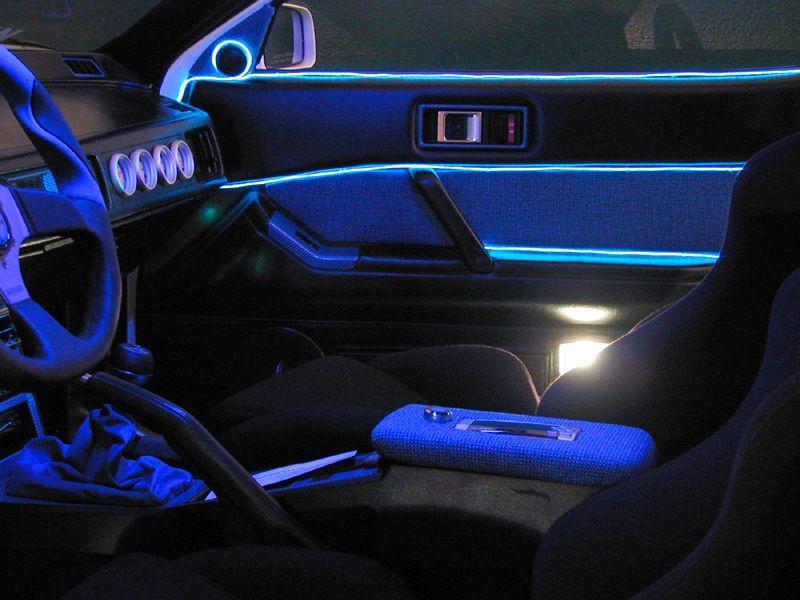 5 Foot Street Glow Neon Wire | Fly Ass Car Accessories | Pinterest ...