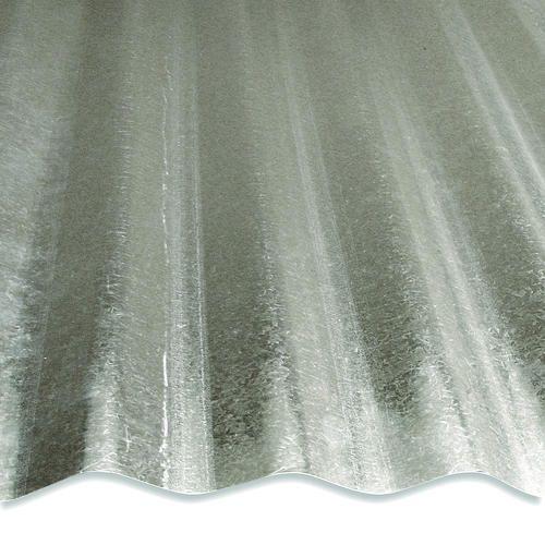 8 Corrugated Galvanized Steel At Menards 8 Corrugated Galvanized Steel Steel Panels Corrugated Roofing Galvanized Steel