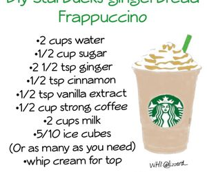 Holiday diy gingerbread frappuccino uploaded by Liz