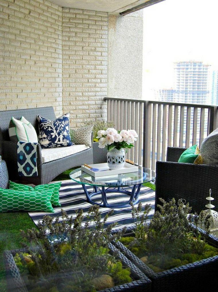 Decoración de terrazas pequeñas- como decorar una terraza pequeña - decoracion de terrazas pequeas