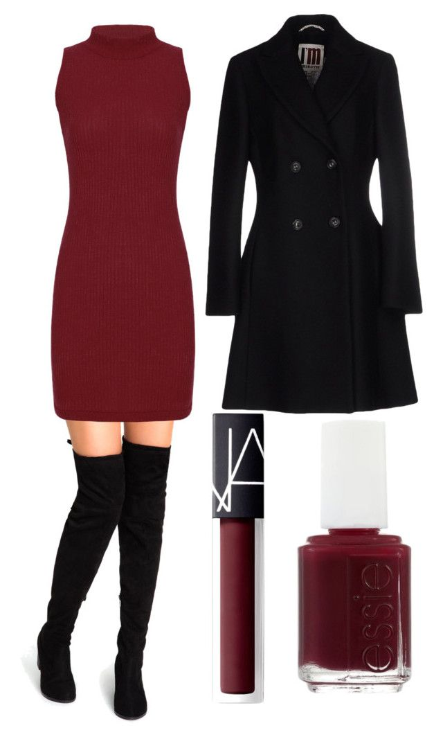 Autumn Date by mairiajarvis on Polyvore featuring polyvore fashion style I'm Isola Marras NARS Cosmetics Essie clothing