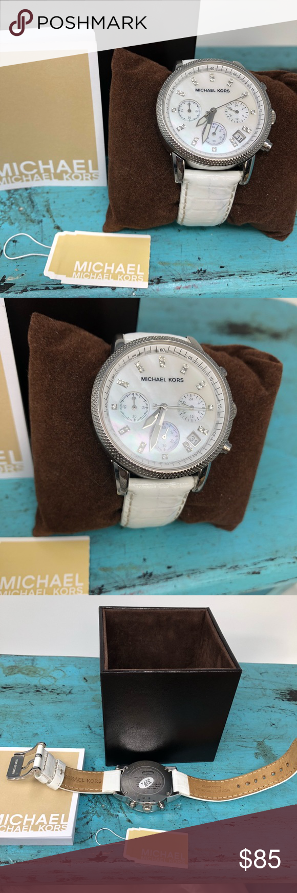Michael Kors Mk5409 Womens Chronograph Mop Watch My Posh Picks