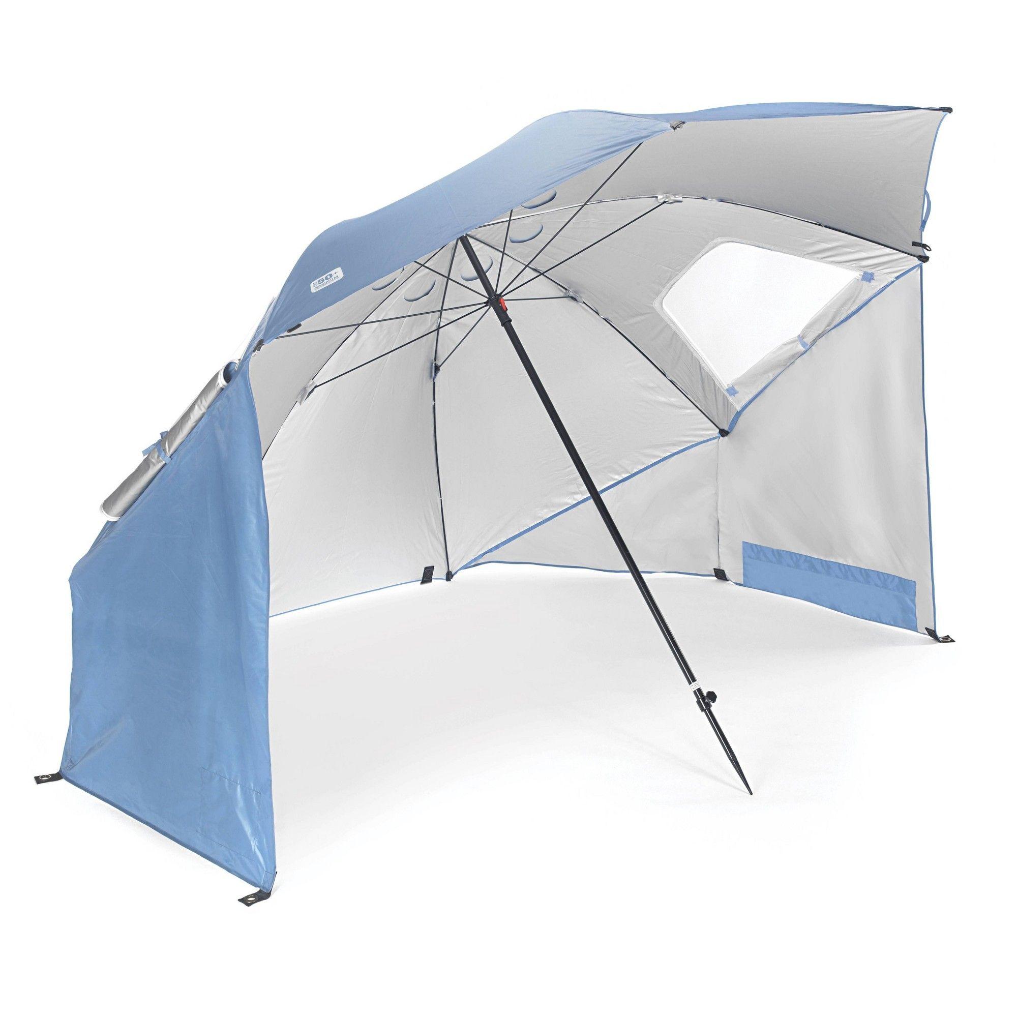 Sport Brella Xl Steel Blue Beach Umbrella Weather