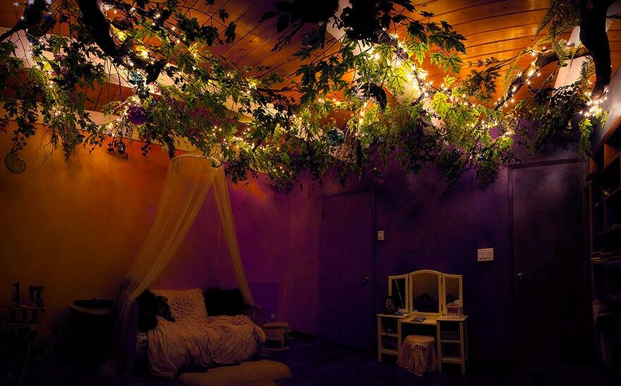 enchanted forest themed bedroom | bedroom designs | fairytale