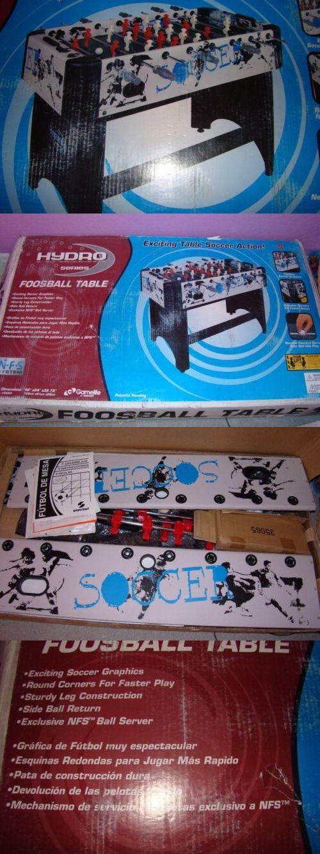 Foosball 36276: Hydro Series Foosball Table Soccer New In Box (Open Box)  Local