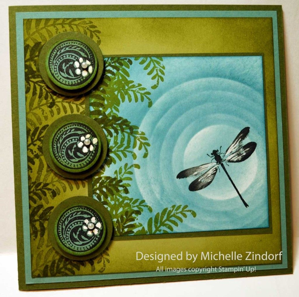 Dragonfly Pond – Stampin' Up! Card (zindorf.blogs ...