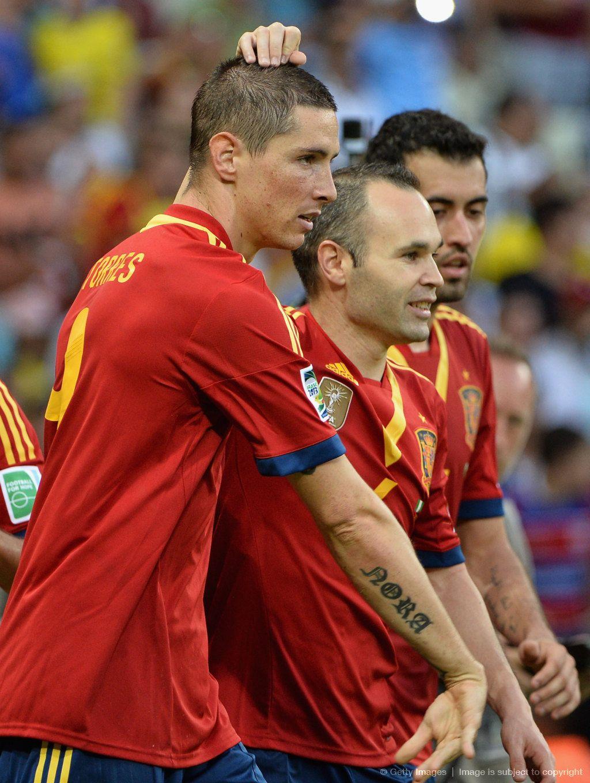 Fernando Torres. Spain vs Nigeria. Confederations cup ...