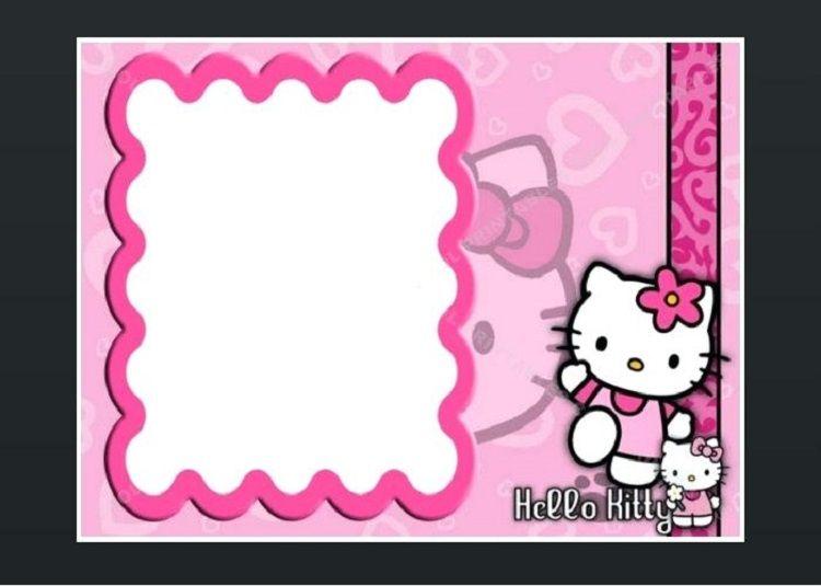 Hello Kitty Birthday Invitations Blank Hello Kitty Invitations Hello Kitty Invitation Card Hello Kitty Birthday Invitations