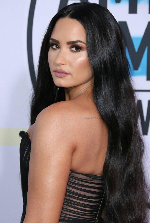 Pinterest Deborahpraha Demi Lovato Highlighted Makeup Look