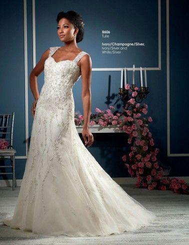 Bonny Essence Wedding Dresses - Style 8606 | Lovely Dresses | Pinterest