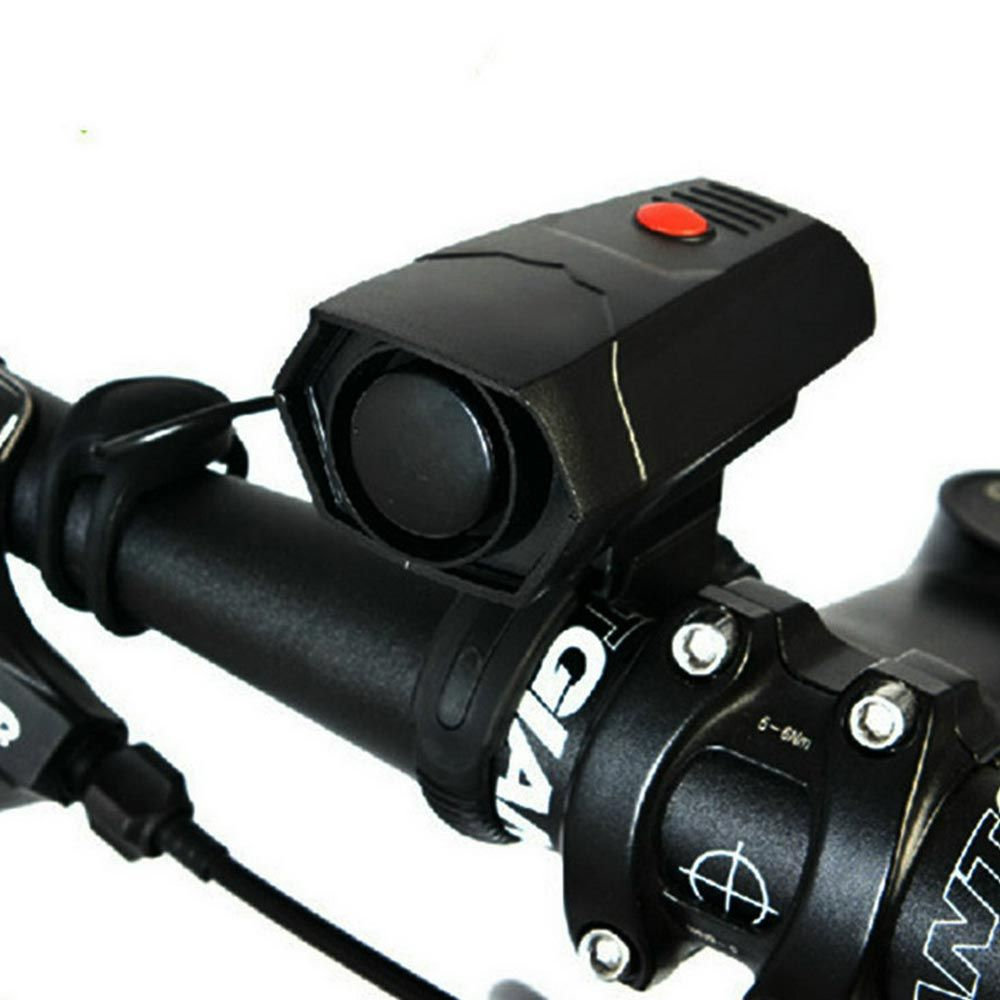 Bike Bell Ring 110db Cycling Bicycle Horn Speaker Electronic AAA Battery Powered