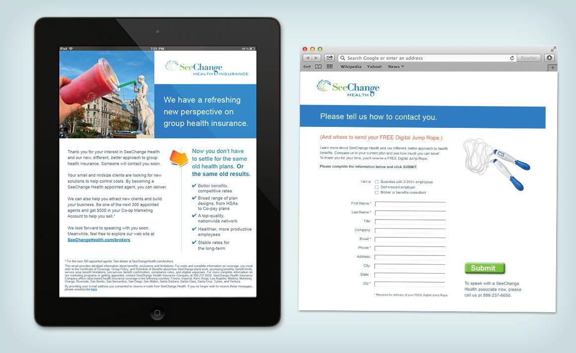 Cigna-HealthSpring Point Care Lead Gen Campaign ...