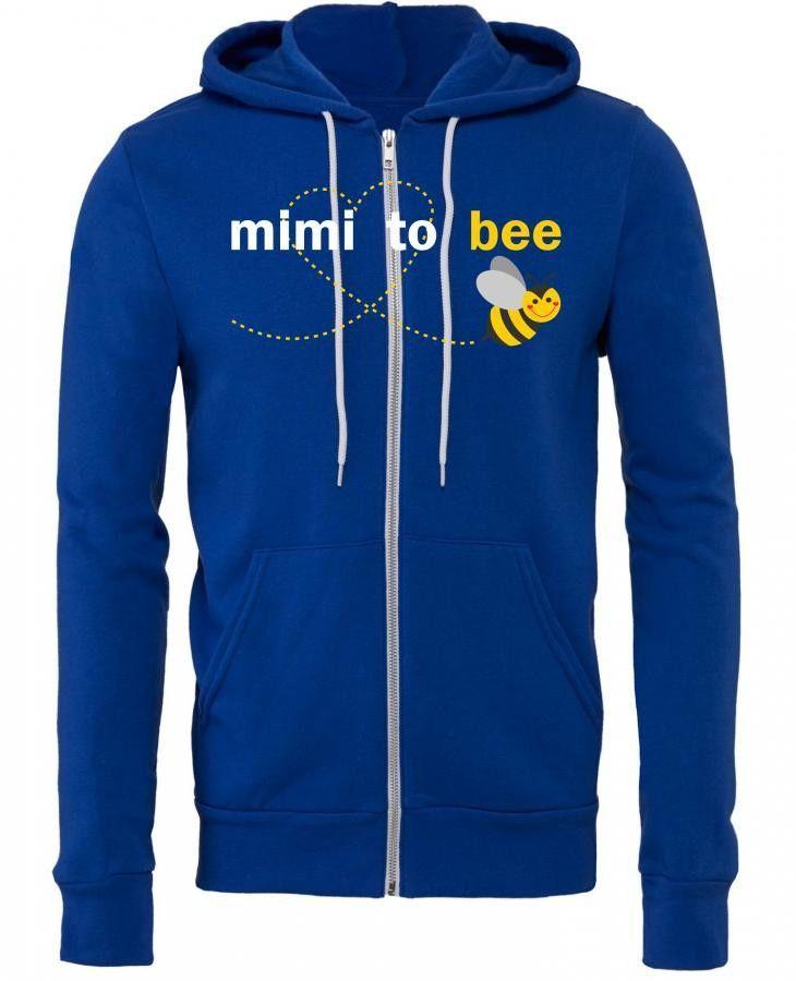 Mimi To Bee Zipper Hoodie