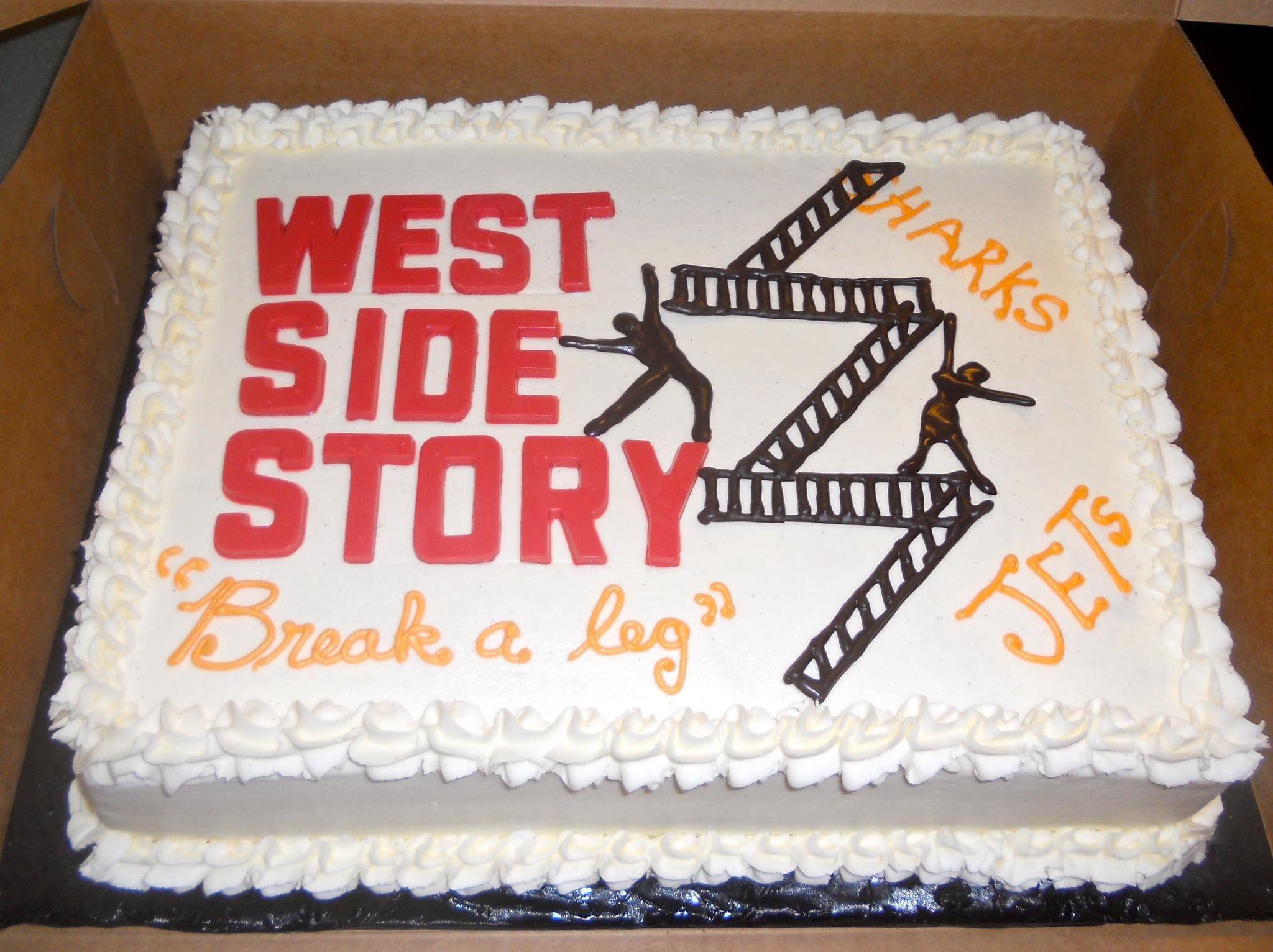 Resultado de imagen de west side story cake