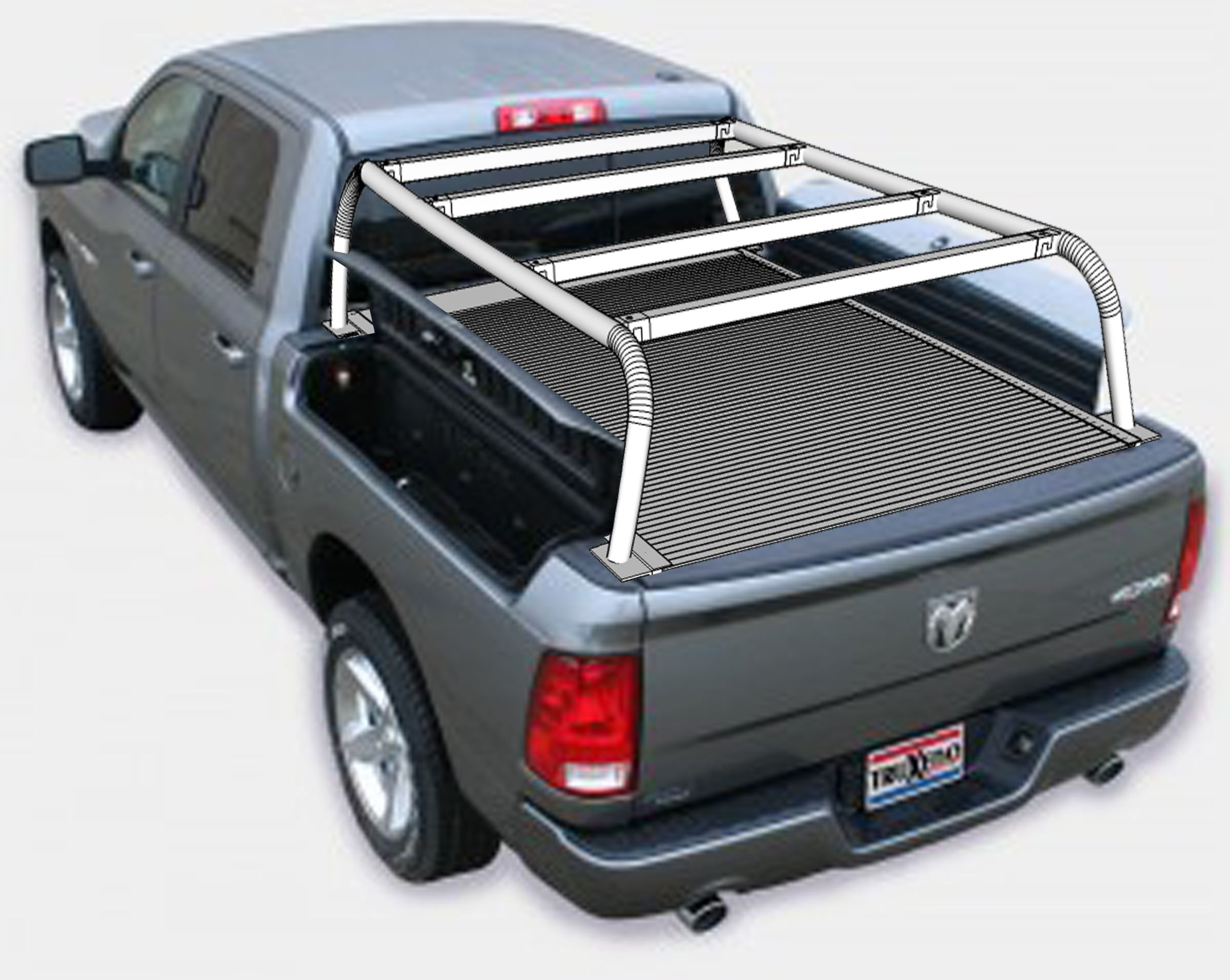 Expedition Truck Bed Rack, Roof Top Tent Rack