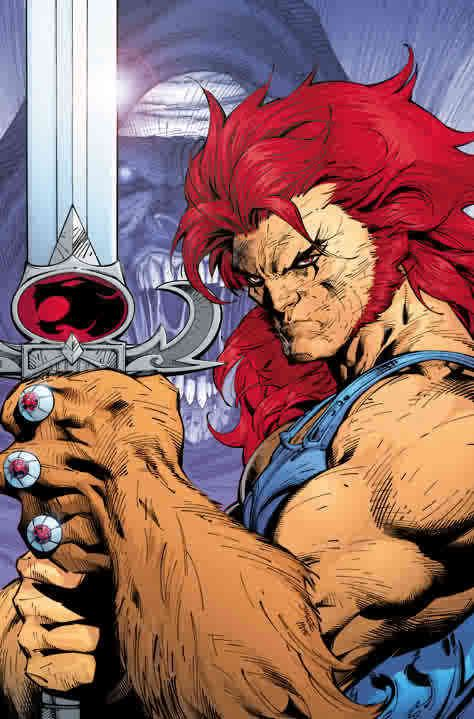 Lion-O of Thundercats by Jim Lee