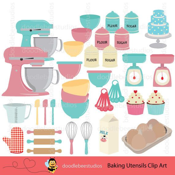Kitchen Center Clip Art: Pin By Happy Sloth Graphics On Kitchen* - Mixed All