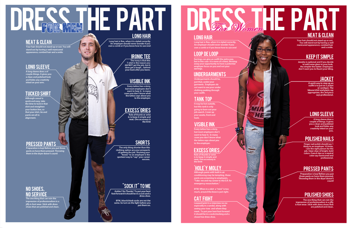 Dress Code for Career Fair Tech Blog