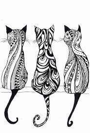 Resultado de imagen para cats back drawing