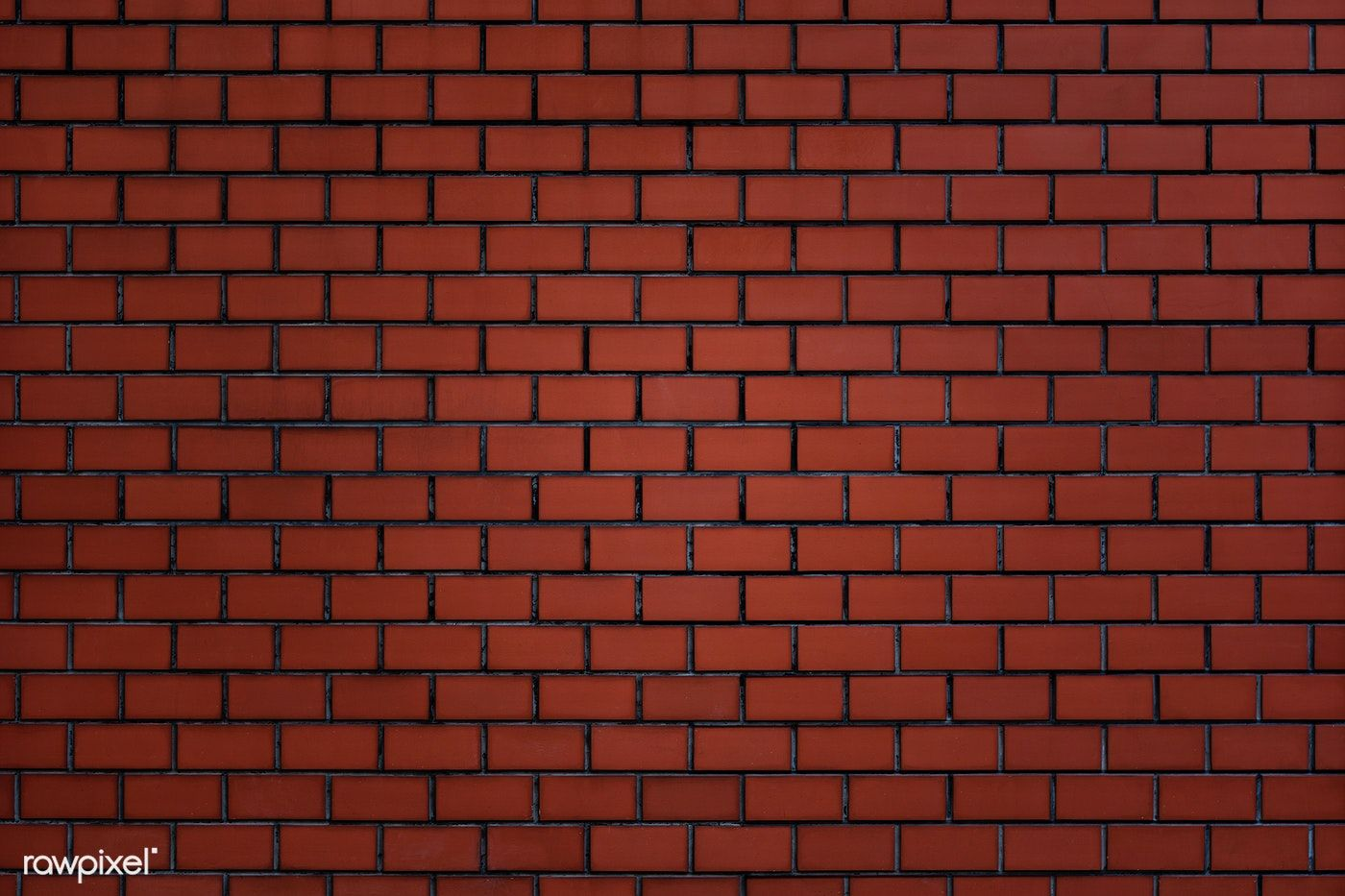 Brownish Red Brick Wall Textured Background Free Image By