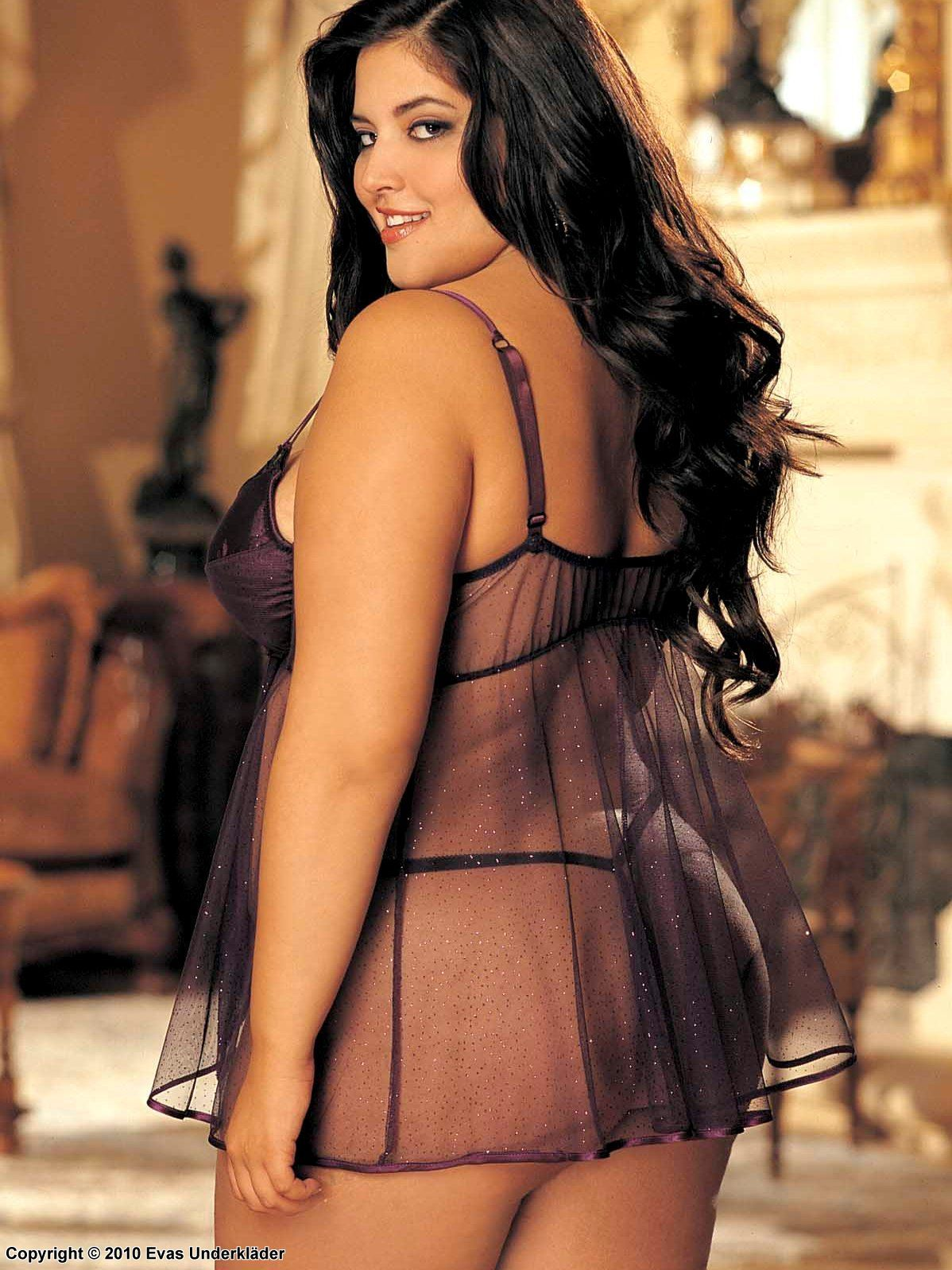 Plus size model denise bidot think, that