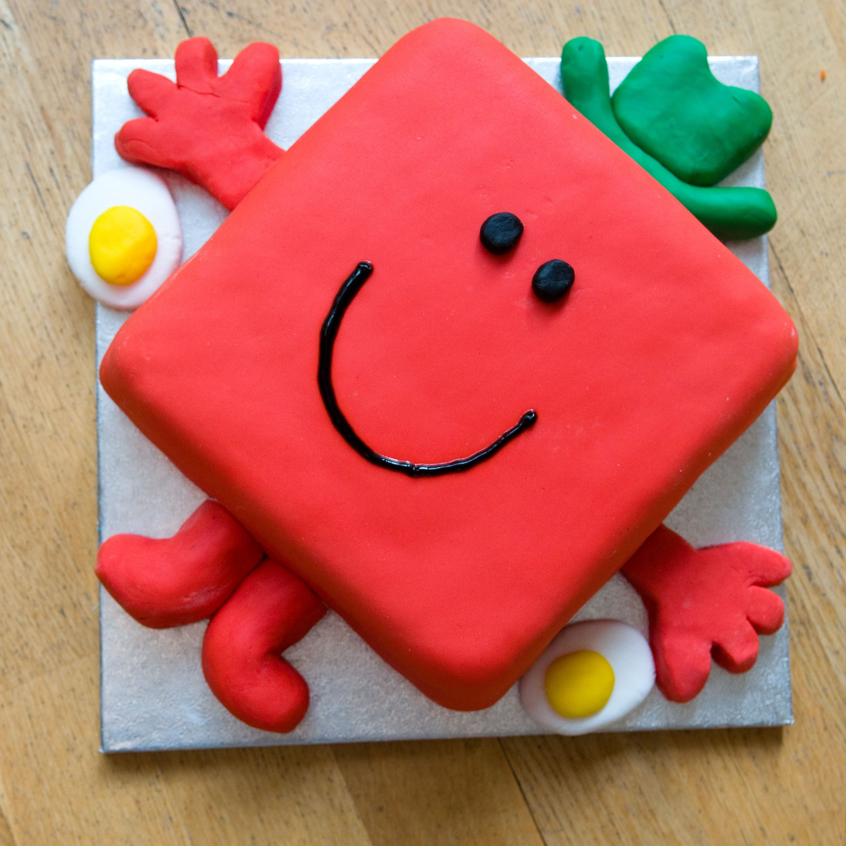 Mr Strong Birthday Cake For No S Th Birthday  Mr Men And - Mr tickle birthday cake