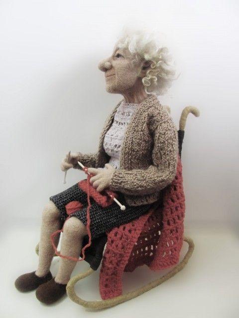 """Картинки по запросу """"картинка кукла старушка с вязанием"""""""