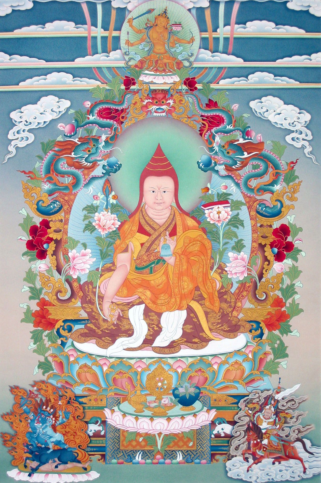 Buddhism white lotus an explanation of the seven line prayer buddhism white lotus an explanation of the seven line prayer to guru fandeluxe Images