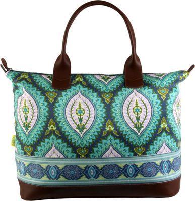 Amy Butler for Kalencom Marni Duffel Bag Imperial Paisley Clover - via eBags.com!