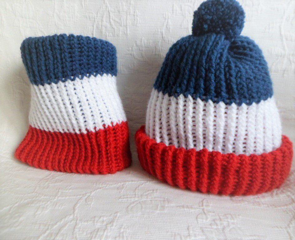 nouveau style de vie brillance des couleurs bien Ensemble bonnet et snood écharpe enfant tricoté à la main ...
