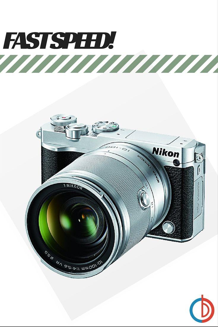Nikon 1 J5 Digital Camera W Nikkor 10 100mm F 4 0 5 6 Vr Lens Silver Digital Camera Vr Lens Nikon